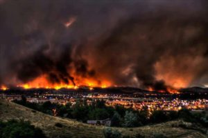 A picture of the Waldo Canyon Fire